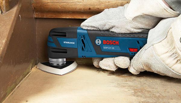 Особенности инструмента Bosch GOP12V-28N