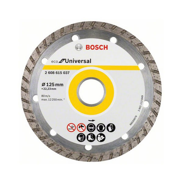 Алмазный диск ECO Univ. Turbo Bosch 2608615037