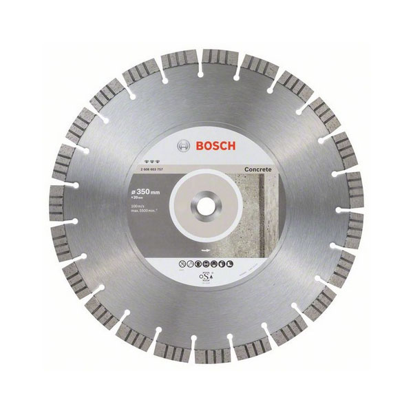 Алмазный диск Best for Concrete Bosch 2608603757